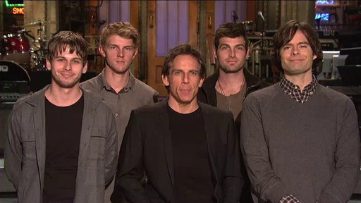 SNL Promo: Ben Stiller and Foster the People Video