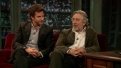 [Robert De Niro and Bradley Cooper, Part 2]