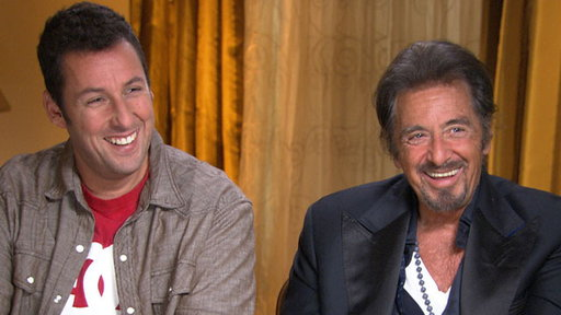 [What Did Al Pacino Think of Adam Sandler Playing His Love Intere]