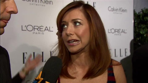 [Alyson Hannigan Reacts to Neil Patrick Harris Becoming a Dad]