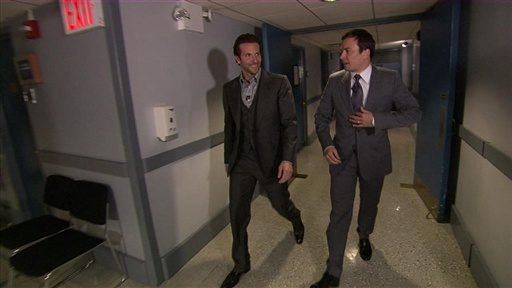 [Jimmy Walks Bradley Cooper Out]