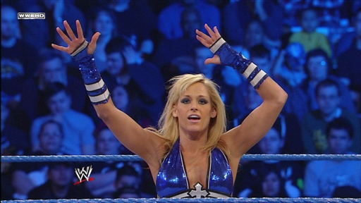 Women's Champion Mickie James Vs. Michelle McCool Video