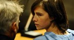 amanda knox  who was convicted in the murder of her british roommate in