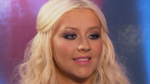 [Christina Aguilera Reveals How 'Moves Like Jagger' With Adam Lev]