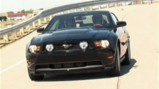 2011 Ford Mustang Test Drive With Blair Herter Video