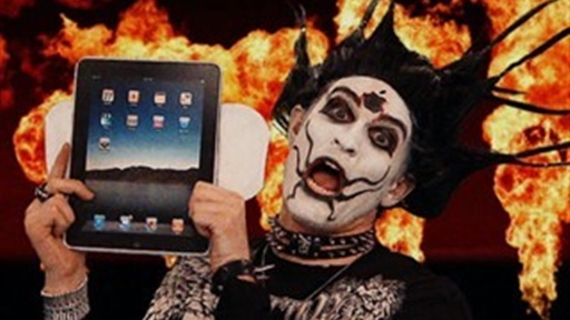 Distended Warranty&#39;s &quot;iHate Therefore iPad&quot; Music Video Video