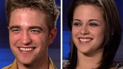 [Robert Pattinson & Kristen Stewart On Going All the Way in 'Brea]