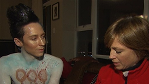 2010 Winter Olympics: Is Johnny Weir Setting a Bad Example? Video