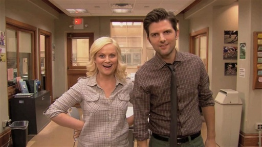 Parks and Recreation...in 3-D! Video