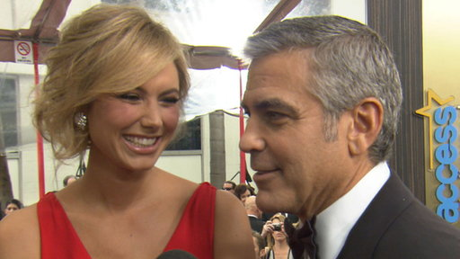2012 Golden Globes Red Carpet: George Clooney's Prediction for t Video