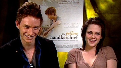 Kristen Stewart &amp; Eddie Redmayne On &#39;The Yellow Handkerchief&#39; &amp; Video