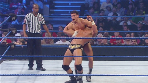 "[Chris Masters Vs. ""Dashing""Cody Rhodes]"