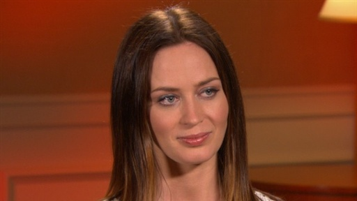 Emily Blunt: It Was a 'Challenge' Filming 'Gulliver's Travels' Video