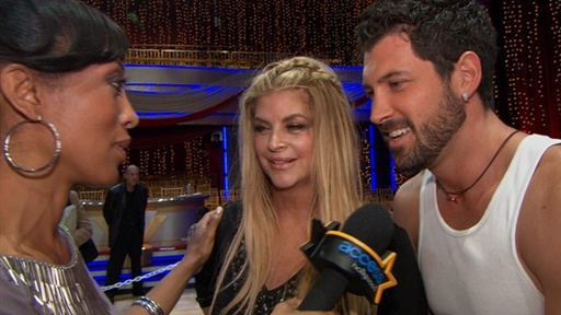 ['Dancing' Finals: Kirstie Alley & Maksim Chmerkovskiy Reflect On]