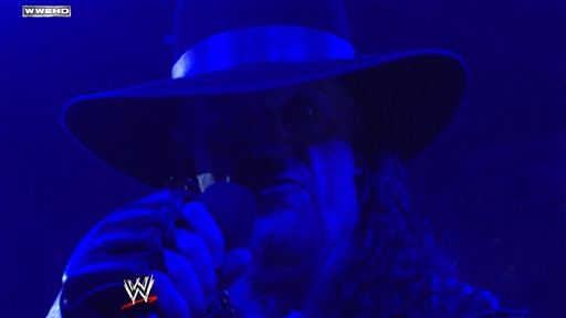 Undertaker Sends a Message to HBK Video
