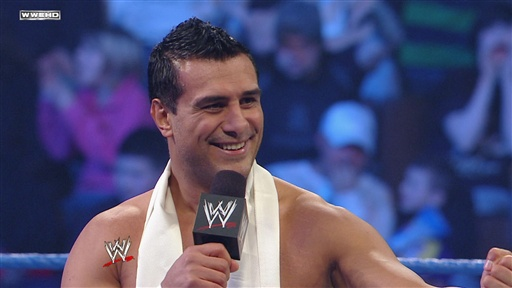 [Alberto Del Rio Royal Rumble Match Exhibition]