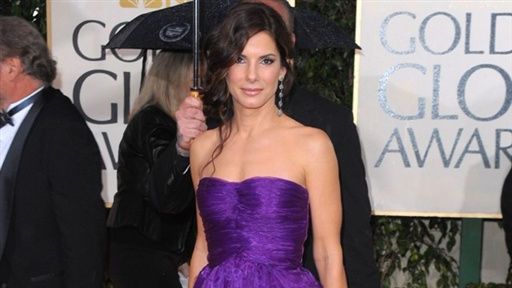 2010 Golden Globes: Sandra Bullock Is 'Happy' Doing What She Lov Video