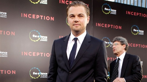 Leonardo DiCaprio's 'Inception' LA Premiere Video