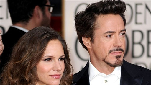 2010 Golden Globes: On the Red Carpet With Robert Downey Jr. Video