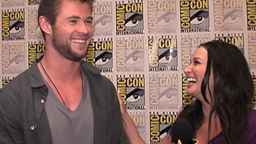 [Comic-Con 2010: Chris Hemsworth 'I Had to Really Bulk Up' for 'T]