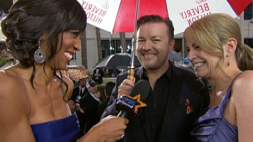 2010 Golden Globes: Ricky Gervais - 'There's Gonna Be More Loser Video