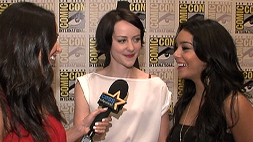 [Comic-Con 2010: Jena Malone & Vanessa Hudgens On 'Sucker Punch']