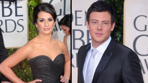 [2010 Golden Globes Red Carpet: 'Glee' Part 2, Lea Michele and Co]