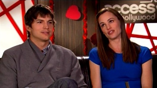[Ashton Kutcher & Jennifer Garner Get Silly About 'Valentine's Da]