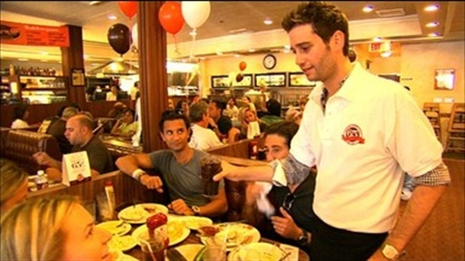 Josh the Waiter Video