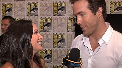 Comic-Con 2010: Ryan Reynolds On &#39;Green Lantern&#39;: the Action Is Video