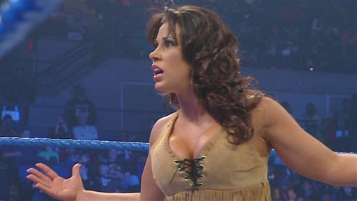 [Women's Champion Mickie James Vs. Layla & Michelle McCool]