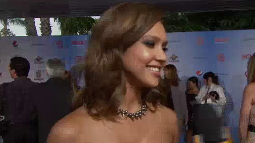 [Jessica Alba Talks Dropping the Baby Weight at the 2011 ALMA Awa]
