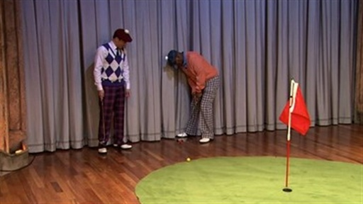 Hallway Golf With Samuel L. Jackson, Part 2 Video
