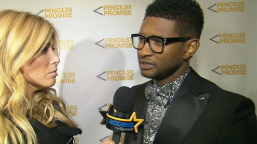 [Usher: There Are a Lot of Girls That 'Fantasize About Having a B]