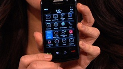 Blackberry Storm 2 Review Video
