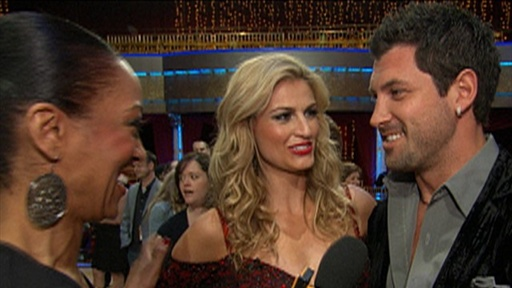 [Are Erin Andrews and Maksim Chmerkovskiy Dating?]