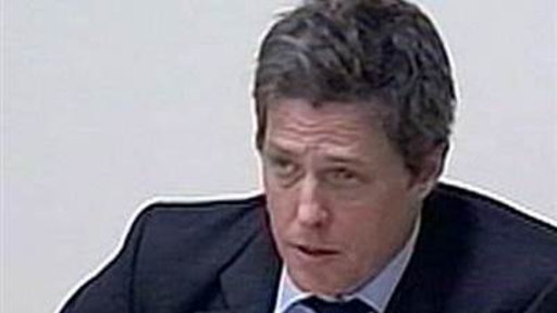 Hugh Grant Testifies On UK Phone Hacking