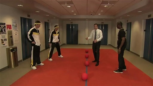 Dodgeball: Jimmy and Chris Pau Video