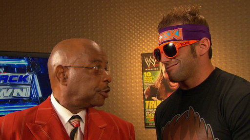 General Manager Theodore Long Talks to Zack Ryder Video