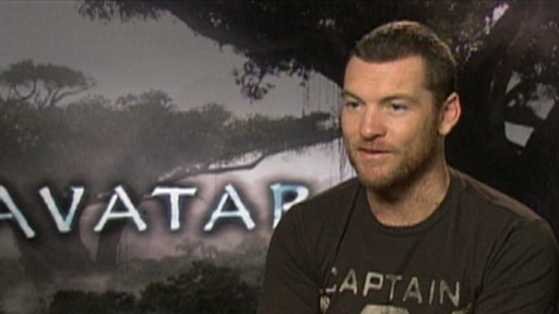 [Sam Worthington Goes Native in 'Avatar']