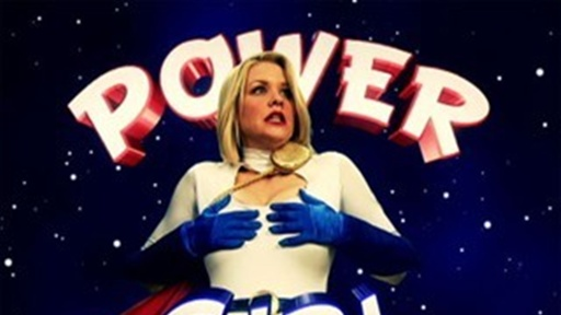 Power Girl Tries to Grow Her Hair Video