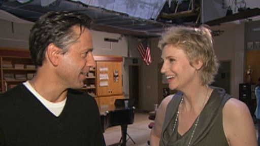 Jane Lynch Reacts to Her Double Emmy Nomination Video
