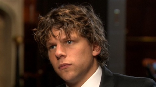 [Jesse Eisenberg Talks 'The Social Network']