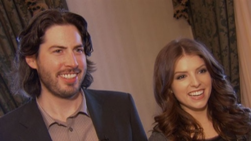 2010 Golden Globe Nominations: Jason Reitman and Anna Kendrick C view on break.com tube online.
