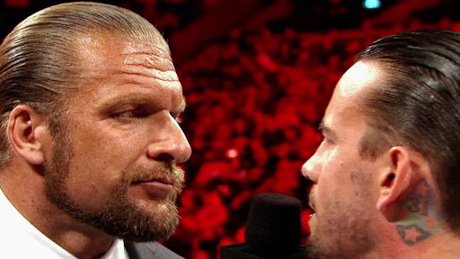 [CM Punk and Triple H's Relationship Is Examined]