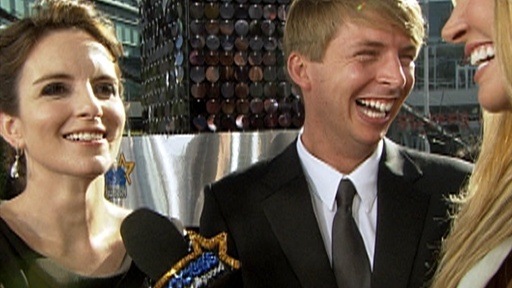 [2009 Emmys Red Carpet: Have Tina Fey and Jack McBrayer Won Too M]