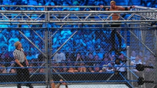 World Heavyweight Champion Randy Orton vs. Christian Steel Cage Video