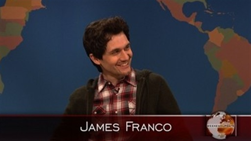 Weekend Update: James Franco Video