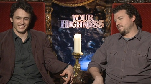 James Franco &amp; Danny McBride Talk &#39;Your Highness&#39; Video