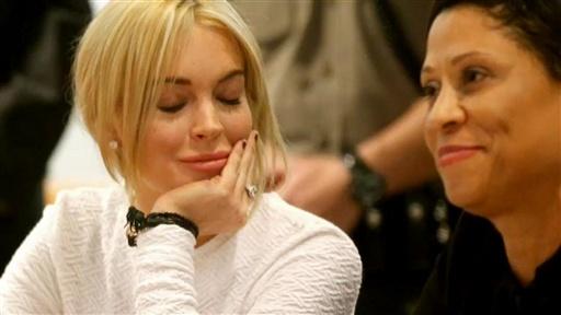 lindsay lohan court dress white. Celebrity and Gossip middot; Lindsay